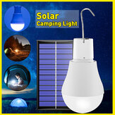 USB Portable Solar Powered LED Light Bulb Outdoor Camping Yard Lamp With Hook DC5V