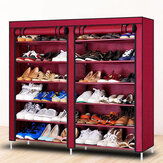BaiYeXuan XG-12 Non-woven Cabinet Double-row Dustproof Suitable for Living Room and Bedrooom