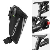 ROCKBROS Bicycle Rear Seat Saddle Tail Bag Outdoor Cycling Camping Bike Storage Bag Pouch
