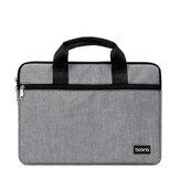 Baona BN-Z011 Laptop Borsa Valigetta di stoccaggio Borsa Uomo Donna Borse Custodia per notebook per notebook 12 13 da 15,6 pollici