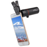 MOGE 131-10000M 99X99 Phone Telescope HD Camera Lens Monocular With Phone Clip Ultralight