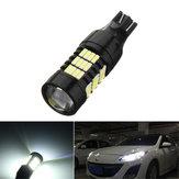 1 Pcs T15 LED Car Backup Reverter Luzes Largo Lâmpada de Nevoeiro Lâmpada 21 W 850LM DC12-24V 6000 K