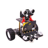 Yahboom Programable Wheeled Smart Robot Car DIY Kit for Microbit