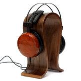 Suporte de exibição em madeira em forma de U cabide Suporte para fone de ouvido Fone de ouvido para fone de ouvido