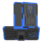 Bakeey for Xiaomi Redmi Note 9S / Redmi Note 9 Pro / Redmi Note 9 Pro Max Case Armor Shockproof Non-slip with Bracket Stand Protective Case Non-original