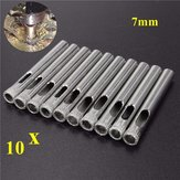 10pcs 7mm Diamond Hole Saw Drill Bits for Glass Ceramic Marble