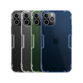 NILLKIN Bumpers Natural Clear Transparent Shockproof Soft TPU Protective Case Back Cover for iPhone 12 Pro Max