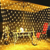 1.5x1.5 M / 2x3 M / 4x6 M LED Netto Mesh Fairy String Light Outdoor Tuin Gordijn Lamp Kerst Festival Decor 220-240 V