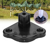 Tent Feet Base Camping Tent Feet Clamp Gazebo Replacement Base Outdoor Tent Accessories