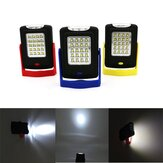 5W Portable 23 LED Magnetic Gancho Camping Lantern Outdoor Work Torch Hanging Light