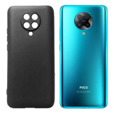Bakeey Pudding Frosted Shockproof Ultra-thin Non-yellow with Lens Protector Soft TPU Protective Case for POCO F2 Pro / Xiaomi Redmi K30 Pro