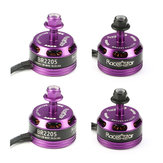 4X Racerstar Racing Edition 2205 BR2205 2300KV 2-4S Brushless Motor Ungu For 210 X220 RC Drone FPV Racing