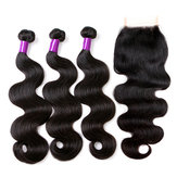 100% Brazilian Body Wave Lace Human Hair Extensions