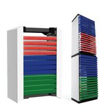 12 Sheets 36 Sheets Game CD Box Disc Rack Storage Rack for PS5 Disc Double Storage Box Bracket Games Accessories