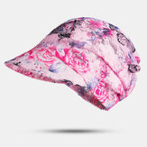 Women Multifunction Sunscreen Outdoor Riding UV Protection Colorful Sun Hat Visor Hat