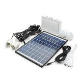 10W Lithium Batterie Solarbetriebenes Beleuchtungssystem