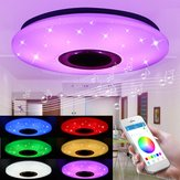 48W 102 LED RGBW Потолок Starlight Лампа Музыкальный свет Bluetooth Parlor Bedroom APP Control AC85-265V