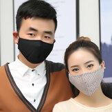 10 adet Filtreler Toz Önleyici Yüz Maskeleri Partikül Solunum PM2.5 Güvenlik Yüz Maskeleri Anti-sis Anti influenza Yüz Maskesi Seyahat için