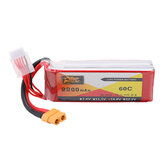 ZOP Power 14.8V 2200mAh 60C 4S Lipo Batterie XT60 Stecker für RC Quadcopter