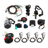 Full Electric Start Engine Wiring Harness Loom para CDI 110cc / 125cc Quad Bike ATV