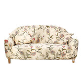 1/2/3/4 Seaters Elastic Sofa Cover Flowers Chair Seat Protector Stretch Slipcover Couch Case Home Office Furniture Decorations