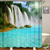 Cortina de ducha Cubierta de asiento de inodoro Tapete Cuarto de baño Producto Cuarto de baño Juego de accesorios para decoración del hogar