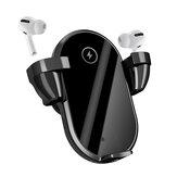 Bakeey WT01 2 in 1 TWS Kopfhörer Drahtloses Autoladegerät Qi Laden Stand Holder Schnellladen für iPhone 12 XS 11Pro MI10 S20 + Hinweis 20