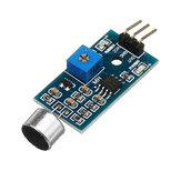 5 Adet Ses Algılama Sensör Modülü Ses Tanıma Modülü Yüksek Hassasiyet Mikrofon Sensör Modülü DC 3.3 V-5 V