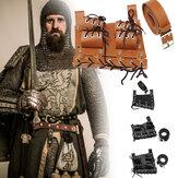 PU Cutter in pelle Cintura Zaino Hanger Holster Adulto Uomo Taglio Cinturas Cosplay medievale Supporto per cosplay Cosplay