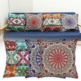 曼荼羅シリーズ国民の風のテーマ枕カバーとクッション