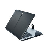 13,3 inch beschermende laptophoes PU lederen tas voor Apple MacBook Air Pro