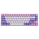 MechZone 135 Keys Sakura Keycap Set PBT XDA Profile Sublimation Two Color Keycaps per GH60 61 64 66 68 87 96104 Tasti Meccanico Tastiera