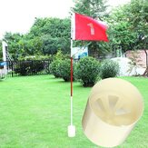 Professional Backyard Practice Golf Flag Varanda Putting Plastic Green Hole Pole Cup