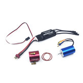Hobbywing 2S-3S 40A Brushless ESC + 2440 4600KV Brushless Motor RC Boat Parts
