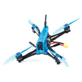 iFlight TurboBee 136RS 136mm SucceX Micro F4 V1.5 3 Inch 4S DIY FPV Racing Drone PNP con Caddx.us Turbo Eos V2 1200TVL Cámara