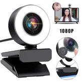 Bakeey 960 1080P HD USB2.0 Konferensi Webcam Live Fokus Otomatis Lampu Pengisian Kecantikan Kamera Komputer Mikrofon Pengurangan Kebisingan Internal