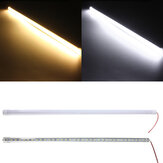 50CM 10W DC12V LED Rigid Strip Light 36 SMD 7020 Aluminium Alloy Shell Skab Lampe Bar