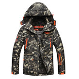 Camo Multi Pockets Windproof Thick Utility Outdoor Jacket