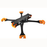 100mhz 5 Inch 210mm Wheelbase 4mm Arm Freestyle Frame Kit 20x20mm / 30.5x30.5mm 90g for RC Drone FPV Racing