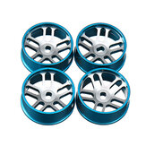 4 pezzi Wltoys Metal Hub RC Car Wheel 1/28 per K989 e IW04M RC Car