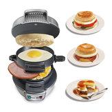Машина для приготовления сэндвичей для гамбургеров для завтрака