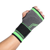 KALOAD Dacron Breathable Wrist Support Palm Protection Adults Weight Lifting Sports Bracers Gym Fitness Protective Gear