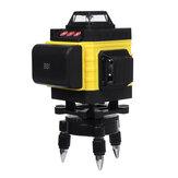 12/16 Line 4D Green Light Лазер Уровень 6000 мАч Большой Батарея Емкость Цифровой самовыравнивающийся 360 ° Вращающийся измеритель