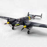 Dynam Messerschmitt BF-110 V3 1500mm翼幅EPO Warbird RC飛行機PNP