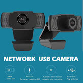 USB 2MP 1080P HD Camera Video Network Webcam Microphone for PC Laptop Notebook
