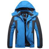 Outdoor Waterproof Windproof Fleece Warm Big Size Jacket
