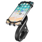4.7-6.0 inch Handle Phone Holder Silicone Strap Mount Motorcycle Bike Universal