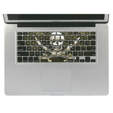 Removable 3D Effect Vinyl Dekal Keyboard Sticker Skin För Macbook Pro 13 Inch