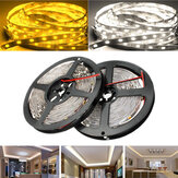 5M SMD5050 300 LED Wit / Warm Wit Niet Waterdicht Flexibel Tape Strip Light Lamp DC12V