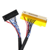 40CM P4 FIX D6 30P 1CH 6 بت LVDS LCD Driver Cable for Universal Notebook شاشة LCD Refit شاشة
